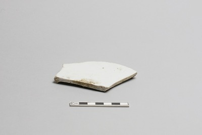 Fragment of the base of a dish