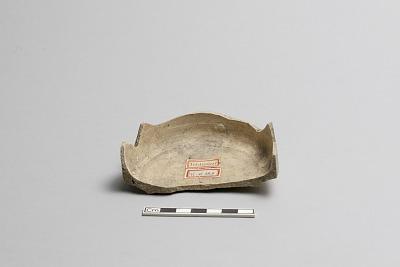 Incense burner base fragment