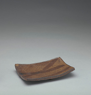 Rectangular dish, from a set