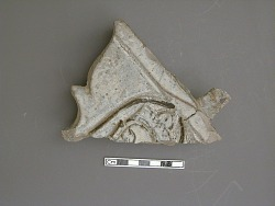 Fragment of an architectural fitting