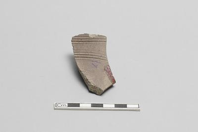 Grating bowl, fragment of wall