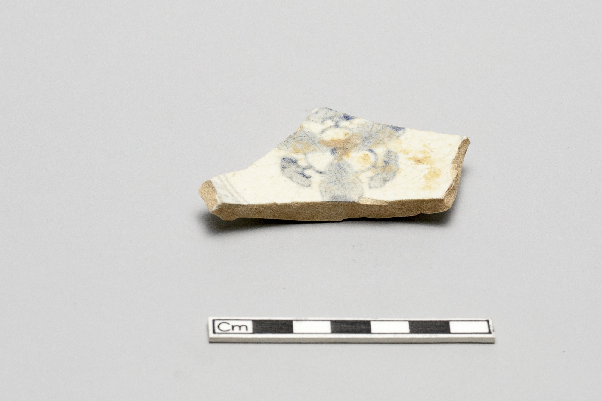 Base fragment of a small dish