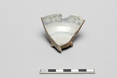 Small bowl fragment (rim and base)