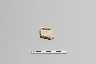 Incense burner or charcoal jar, fragment of rim
