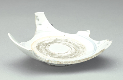 Waster of porcelain dish