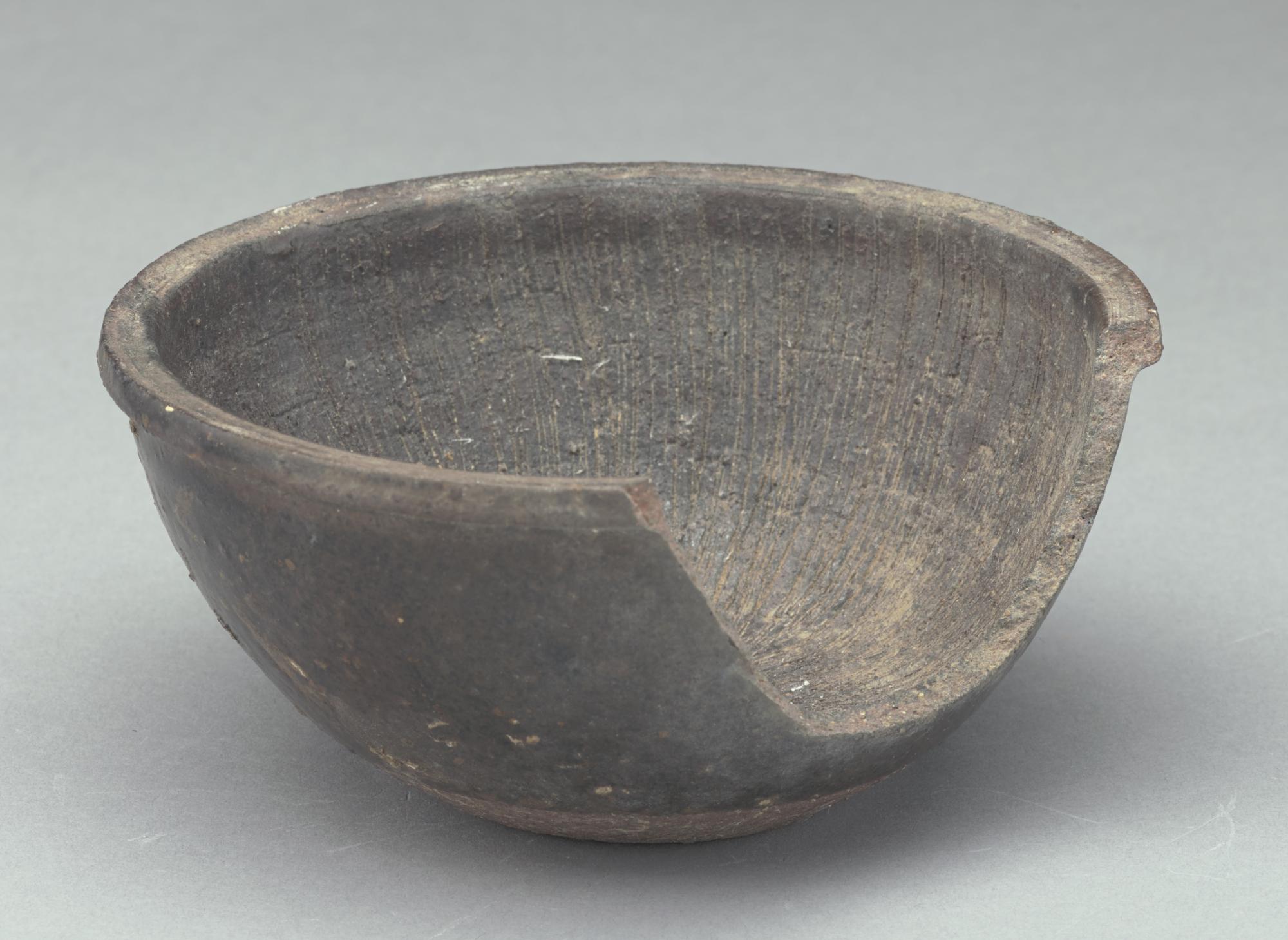 Small grating bowl, broken