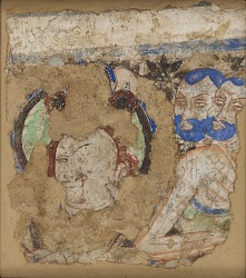 Bodhisattvas and monks, from Cave 224