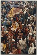 Holy Man in a Palanquin, Kumbh Melo, Allahabad