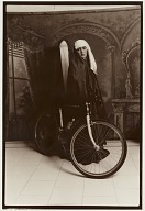 Untitled (woman with bicycle)