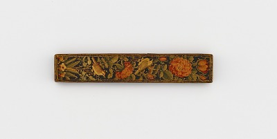 Wafer seal case with flowers and birds