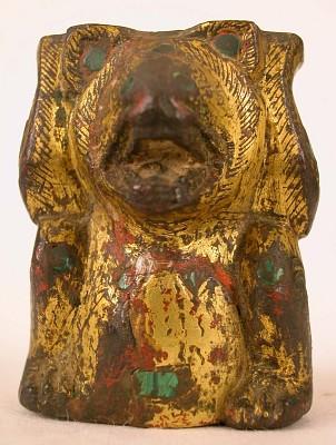 Bear (caryatid?)