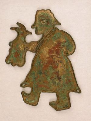 Figural plaque