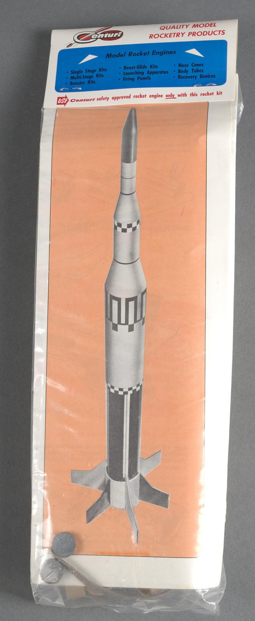 Rocket, Flying Model, Defender Space Probe   National Air