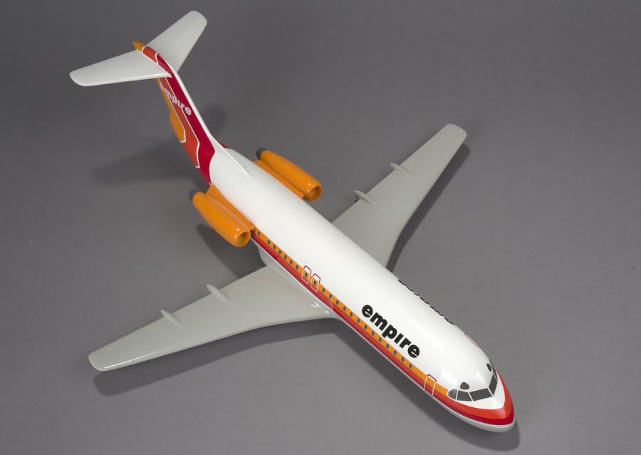 Model, Fokker F-28 Fellowship , Empire Airlines
