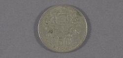 "Coin, Portugal, 50 Centavos, Lockheed Sirius ""Tingmissartoq"", Lindbergh"