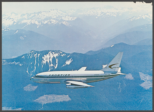Poster, Advertising, Commercial Aviation, FRONTIER