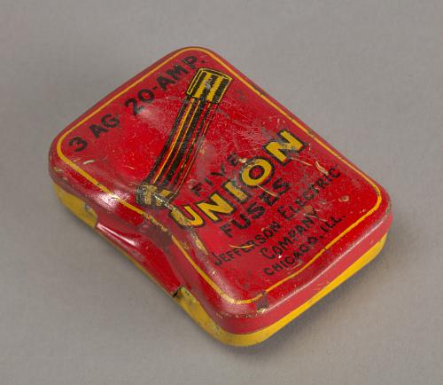 """Fuses, box, Lockheed Sirius """"Tingmissartoq"""", Lindbergh"""