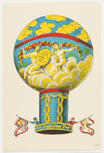 images for Untitled: Balloon. One of set of balloon prints for children.-thumbnail 1