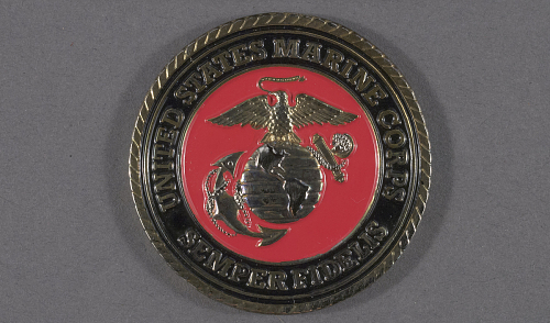 Coin, Challenge, VMM-162, United States Marine Corps