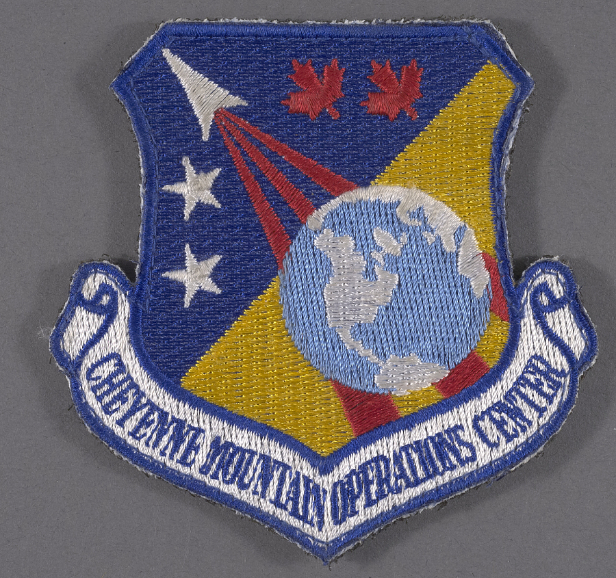 Insignia, Cheyenne Mountain Operations, United States Air Force