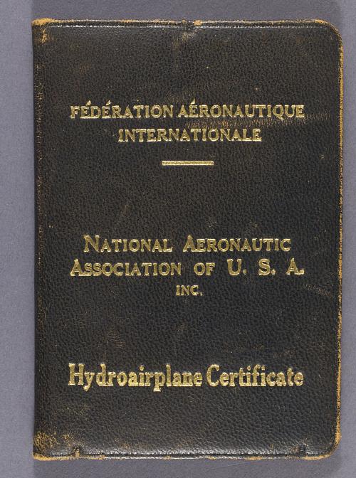 Certificate, F. A. I., James H. Doolittle