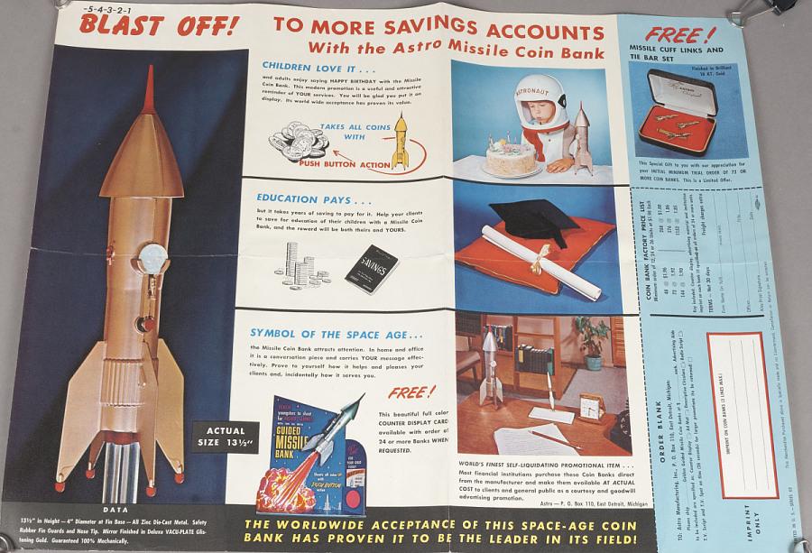 Brochure, Incentives Program, Astro Manufacturing, Inc.