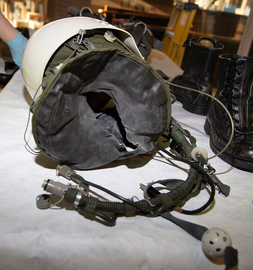 Helmet, Type MA-2, Francis Gary Powers