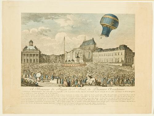 Expérience Aërostatique Faite à Versailles le 19 Septembre 1783