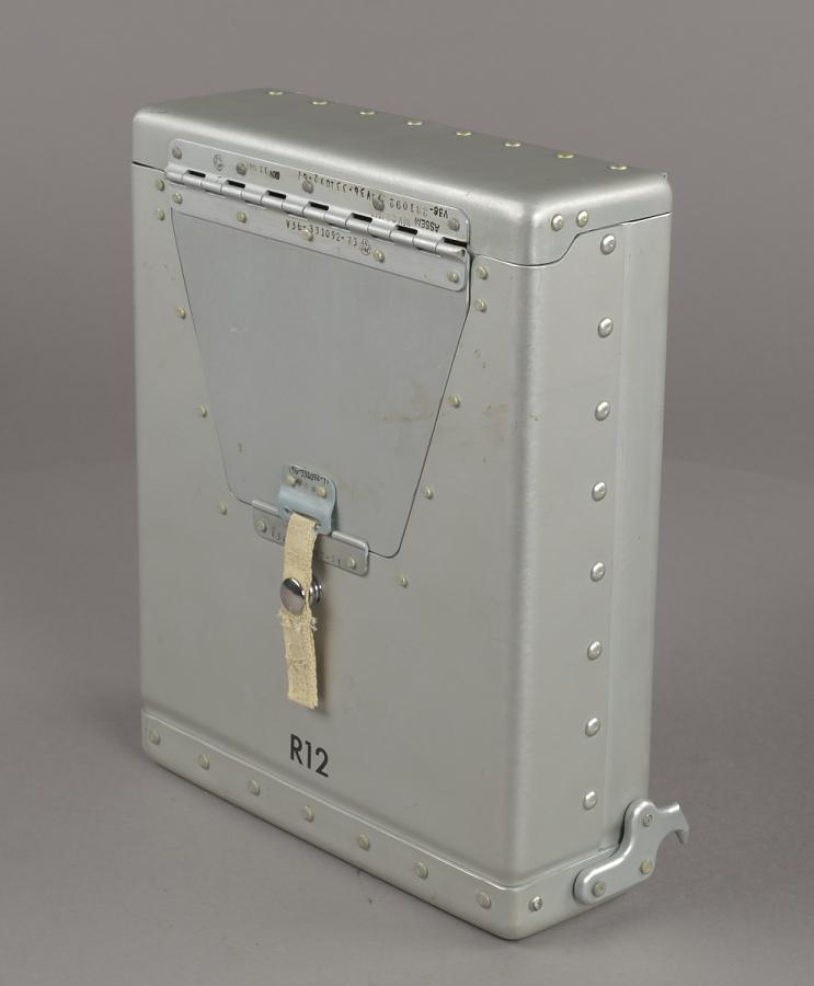Flight Data Container, R12, Command Module, Apollo 11