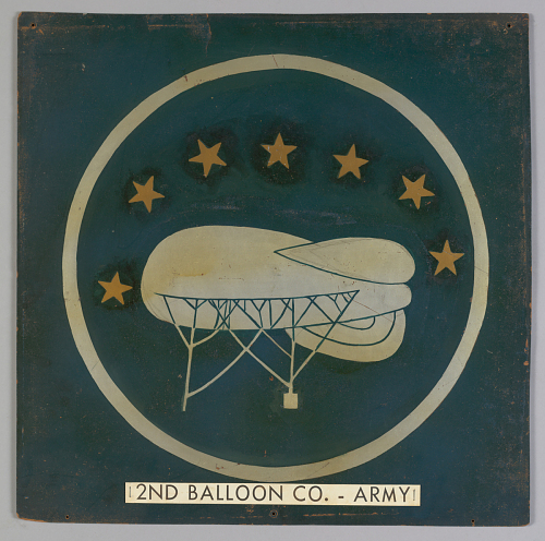 Insignia, 2nd Balloon Company, United States Army Air Corps