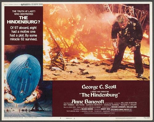 Poster, Advertising, Movie, THE HINDENBURG