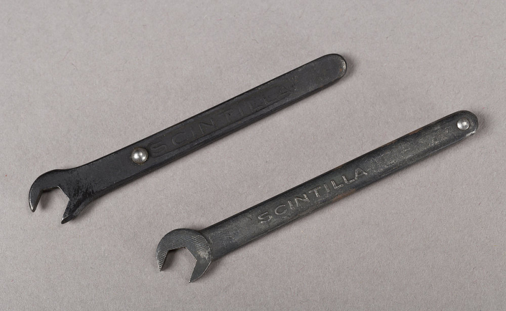 Wrenches With Valve Clearance Gauges, Lockheed Sirius