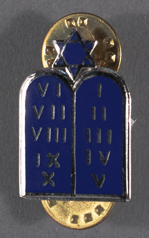 Badge, Jewish Chaplain, Civil Air Patrol (CAP)