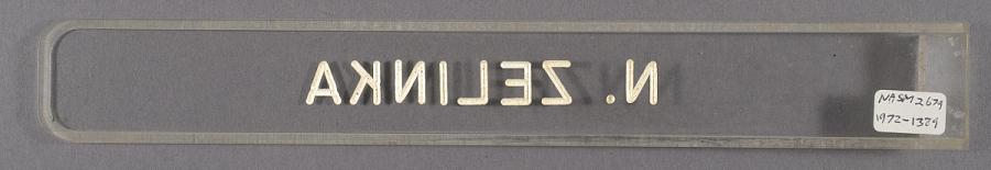 Nameplate, Eastern Airlines