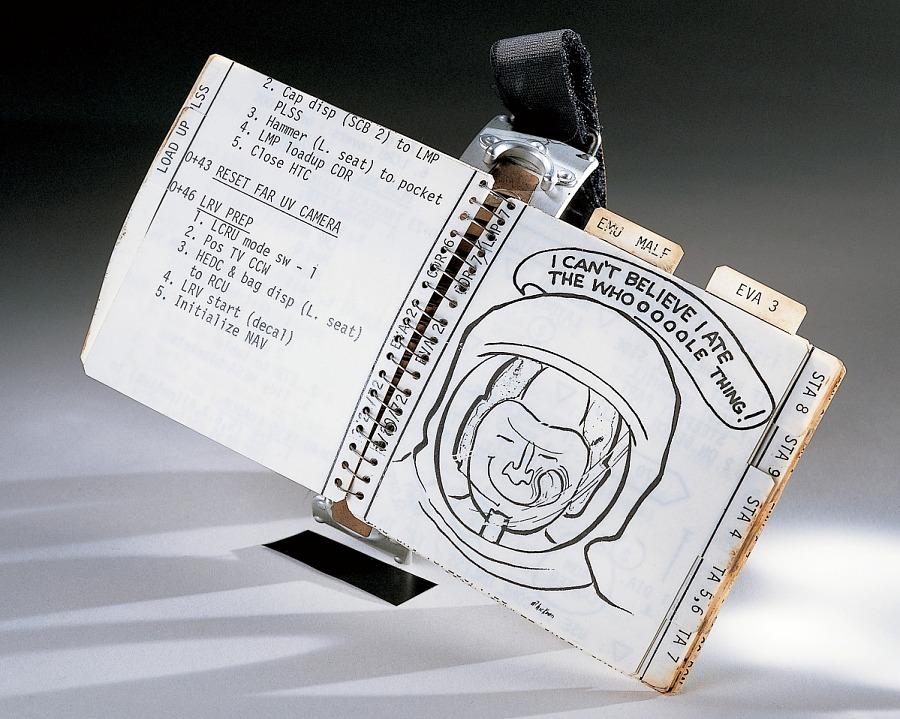 Cuff Checklist, EVA 2 & 3, Apollo 16 (Young)