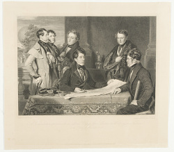 A Consultation previous to an Aerial Voayage from London to Weilburg in Nassau, on the 7th day of November, 1836.