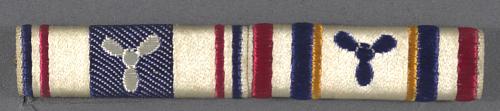 Ribbon Bar, Distinguished Service Medal - Meritorious Service Award Civil Air Pa