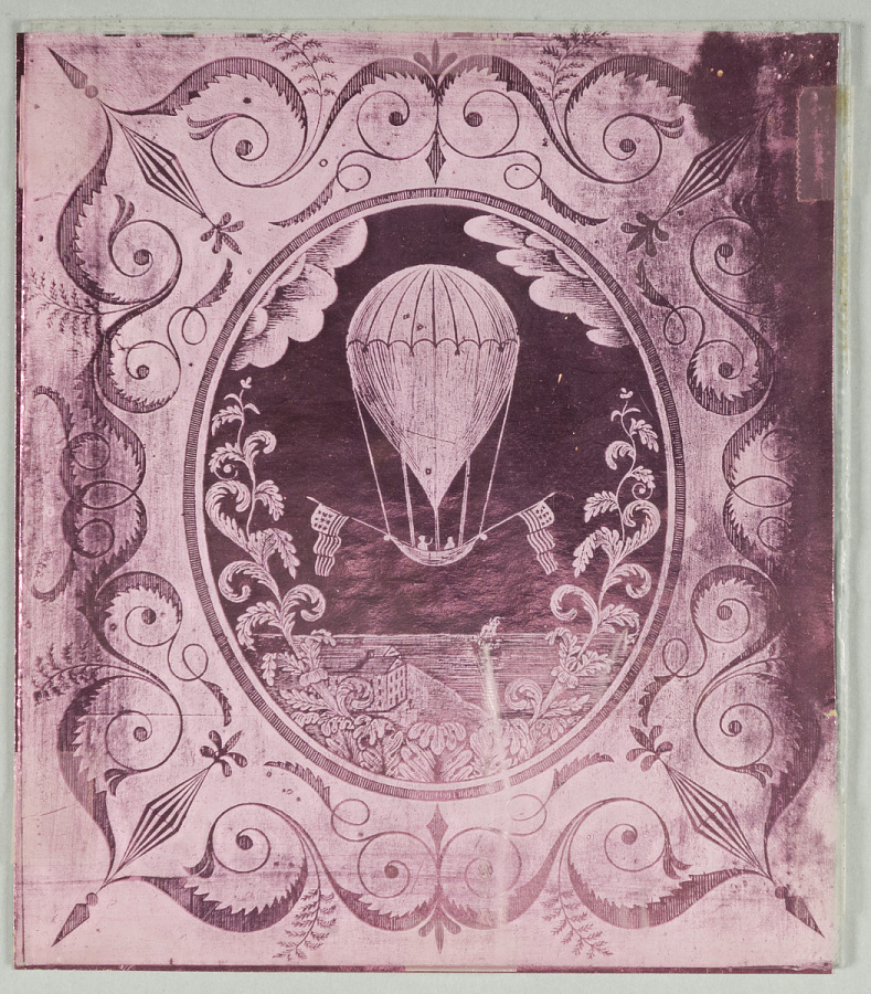 Glass Panel, Etched