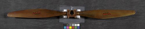 Propeller, ground-adjustable, two-blade