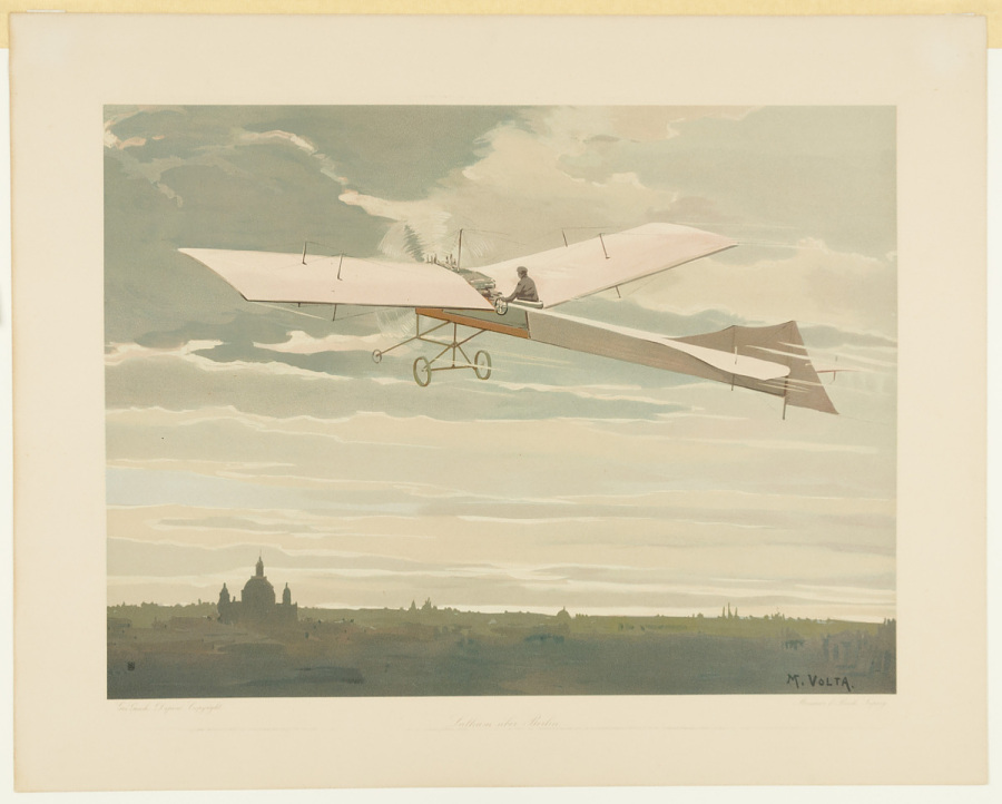 Print, Lithograph on Paper, Colored , LATHAM ÜBER BERLIN
