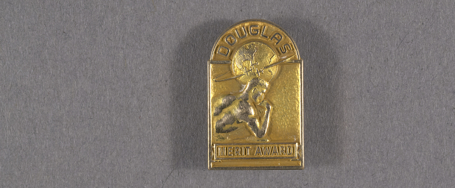 Pin, Lapel, Douglas Aircraft Co. Merit Award