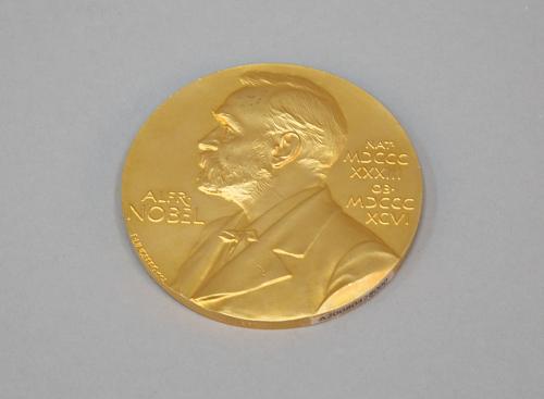 Medal, Nobel Prize, Physics, 2006, John Mather, replica