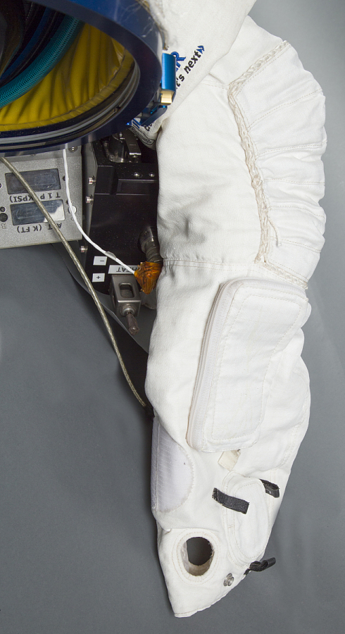 Upper Torso and Life Support Equipment, Paragon StratEx Suit