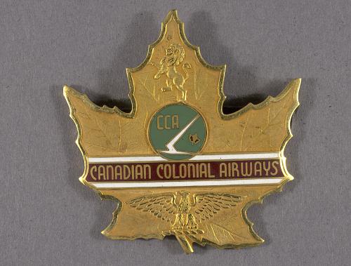 Badge, Cap, Canadian Colonial Airways Ltd.