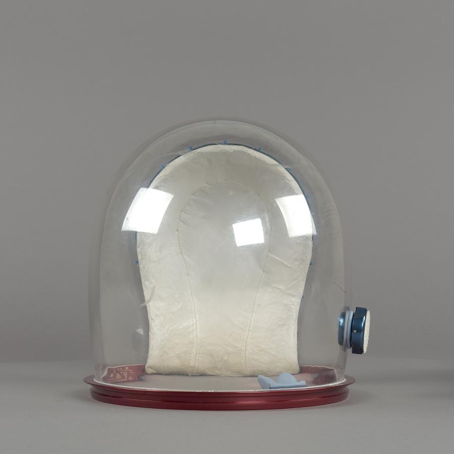 Helmet, Pressure Bubble, Collins, Apollo 11