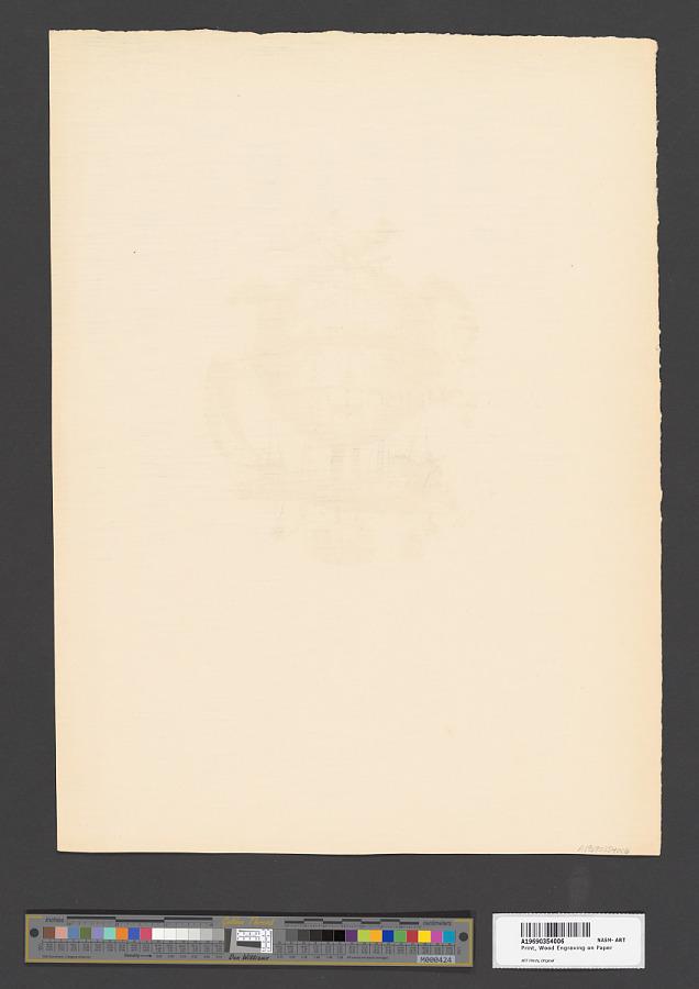 Print, Wood Engraving on Paper