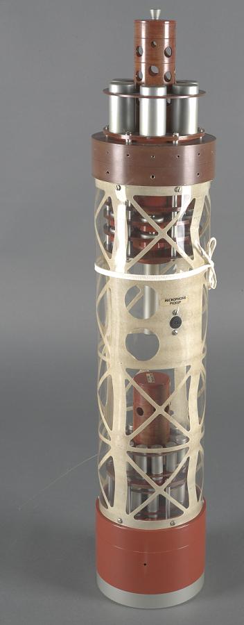 Satellite Payload, Explorer I Instrument Package Display Mock-Up