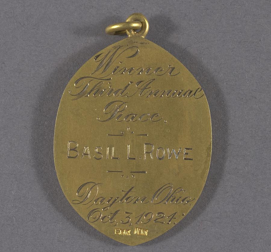 Medal, Third Annual Dayton Air Race Winner