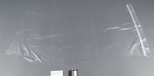 Balloon envelope material sample