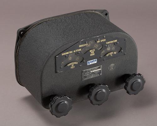 Handset, Navigator's, B-29 Fire Control System
